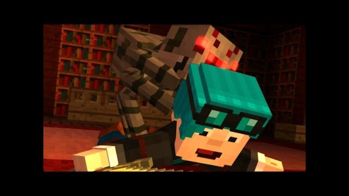 Minecraft Story Mode Why Does Dans Hair Change Color