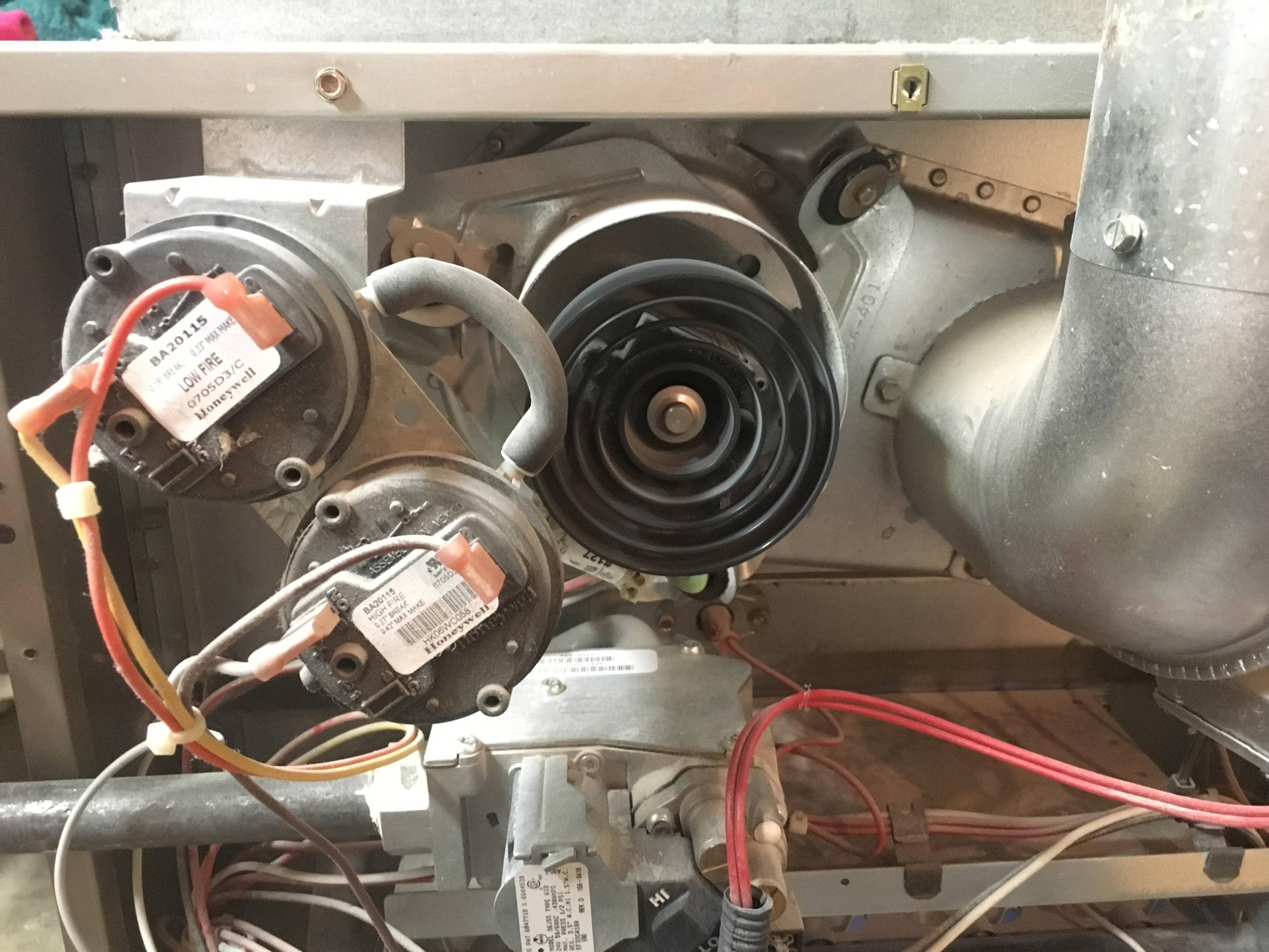 furnace blower humming when off extension cord plug wiring diagram fan intermittent high pitch sound home improvement stack small