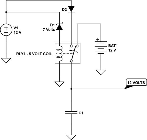 power switchover relay