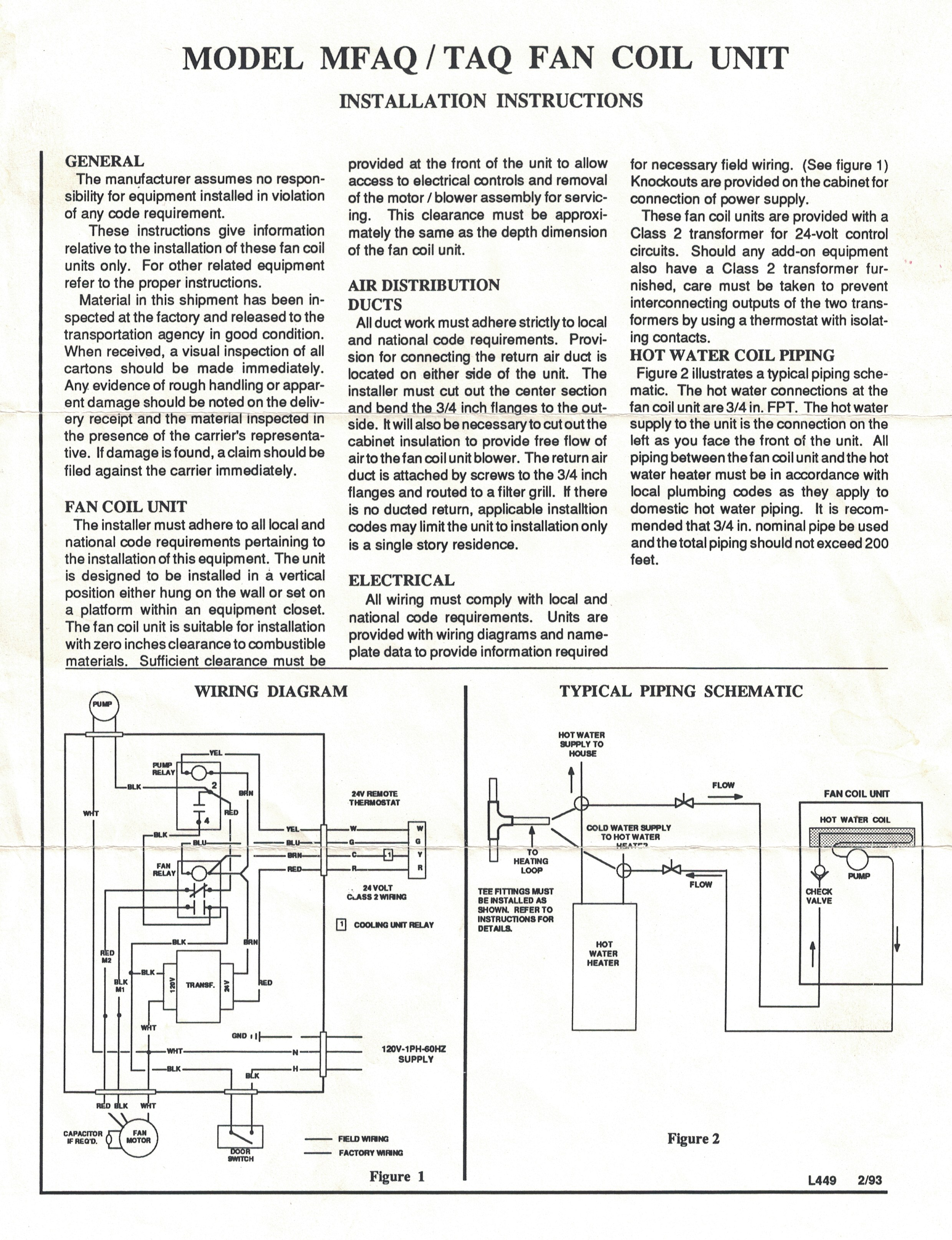 Wiring Diagram For Thermostats : wiring, diagram, thermostats, Connecting, Common, Thermostat, Handler, Improvement, Stack, Exchange