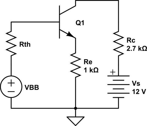 Voltage divider bias (BJT) leads to a huge voltage drop