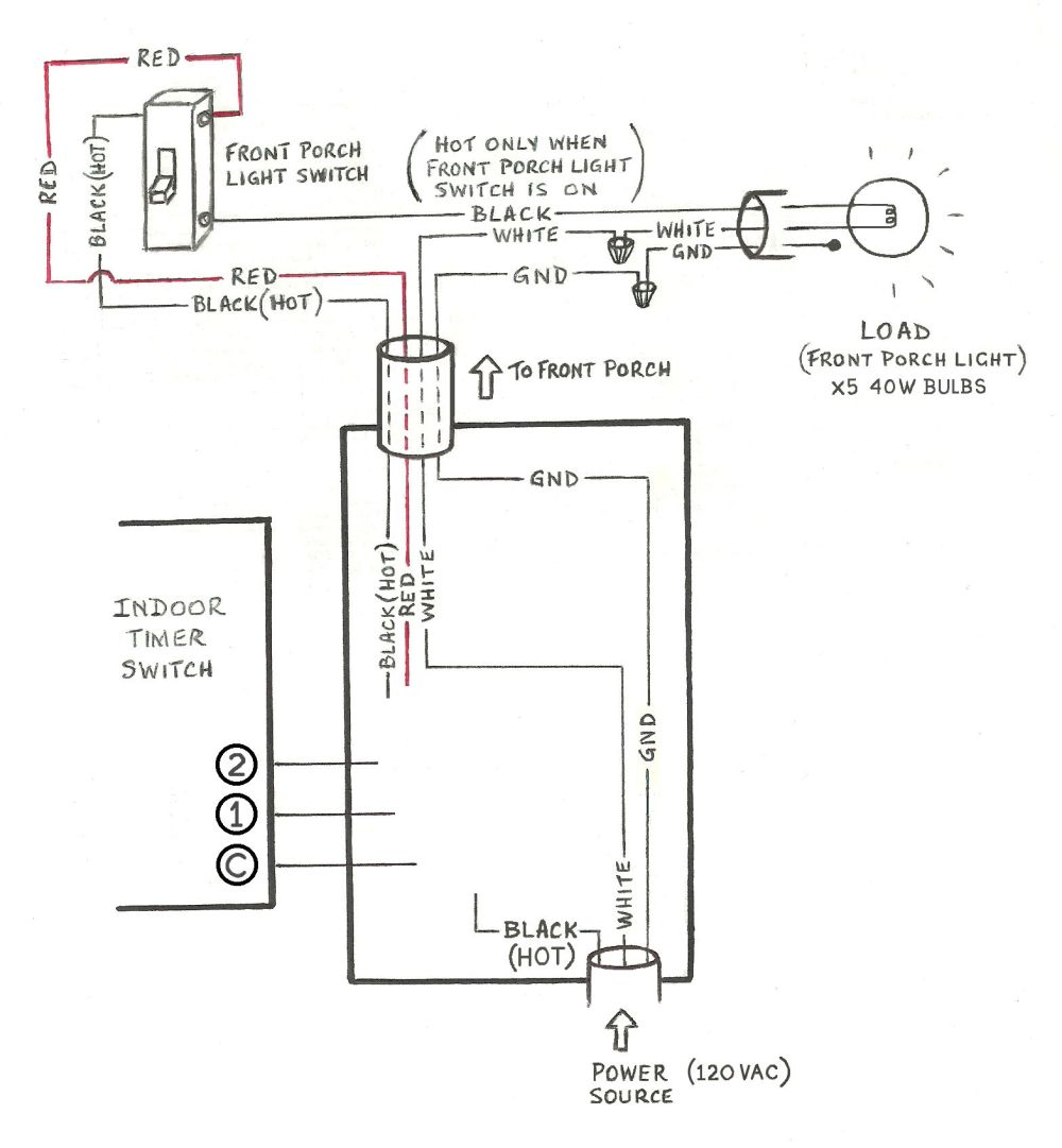 medium resolution of need help wiring a 3 way honeywell digital timer switch home wiring timer switch for outside lights