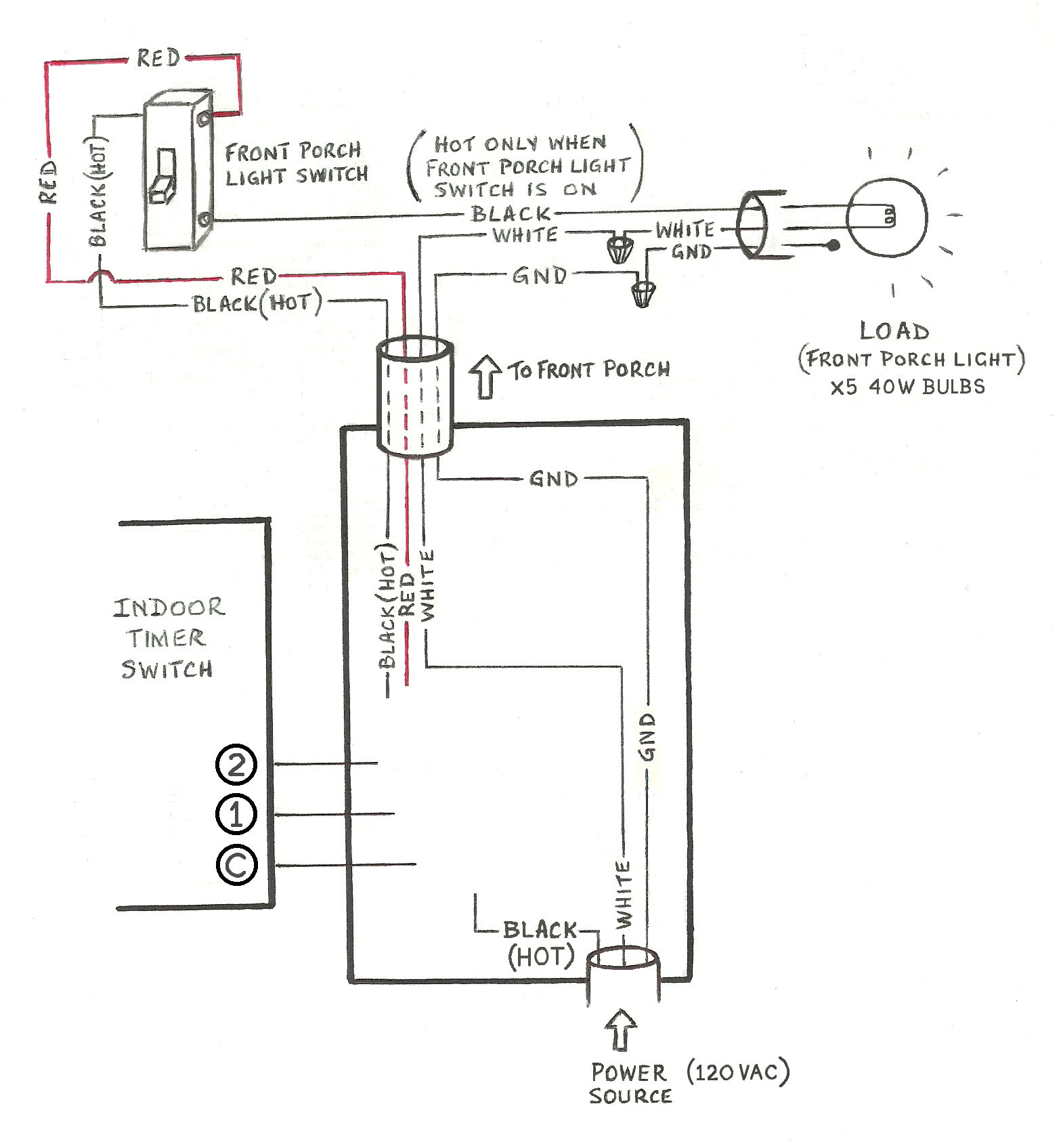 hight resolution of need help wiring a 3 way honeywell digital timer switch home improvement stack exchange