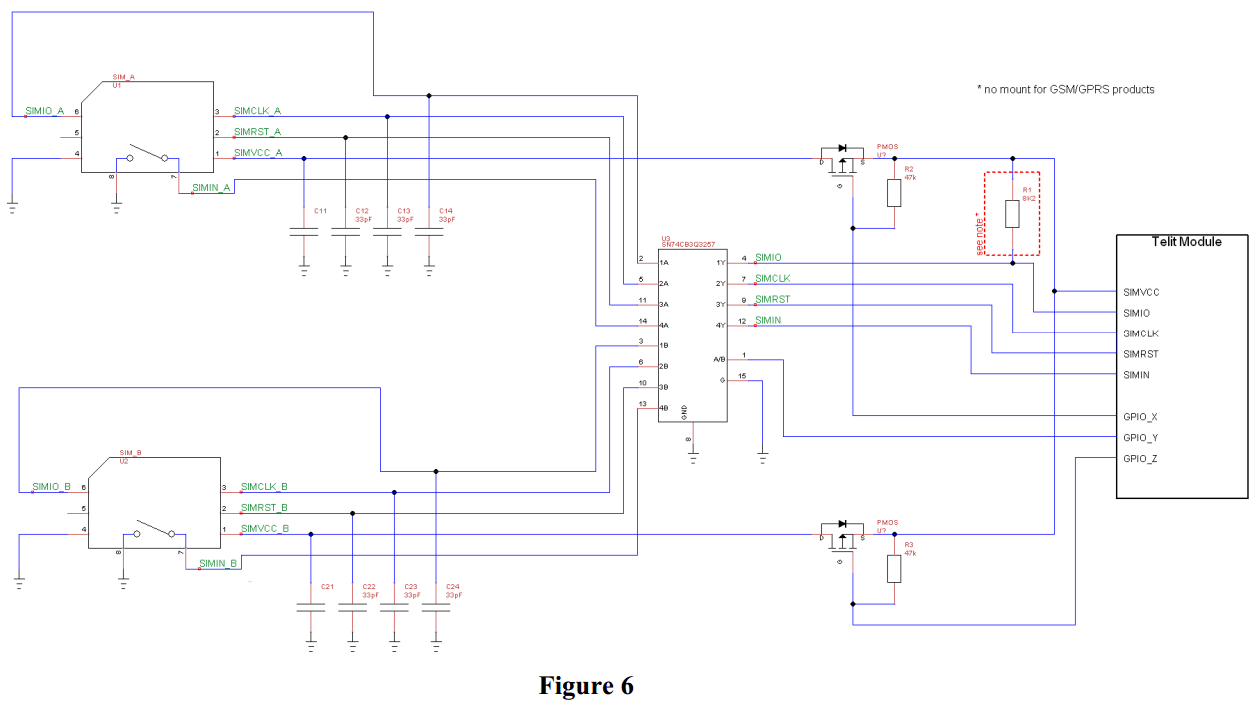 sim card reader circuit diagram electrical wiring for a house switches - ways of switching between two cards engineering stack exchange