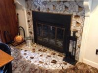 Curved Fireplace. Sauder Select Curved Fireplace Insert In ...