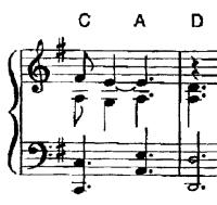 Why is the left hand stave missing from the piano sheet