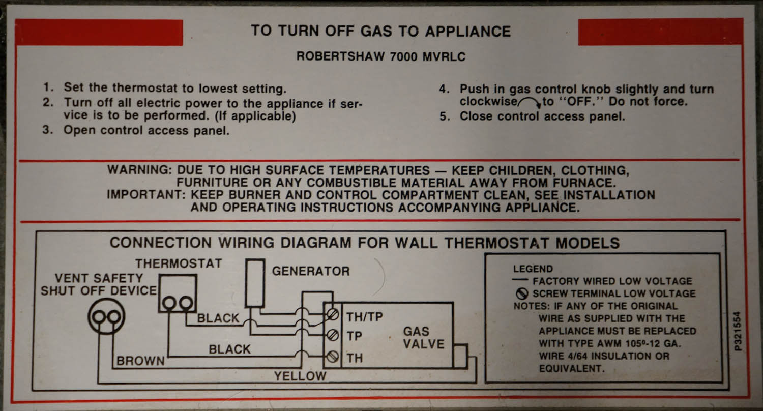 hight resolution of heating how can i retrofit this existing wall heater with an mix propane heater thermostat wiring