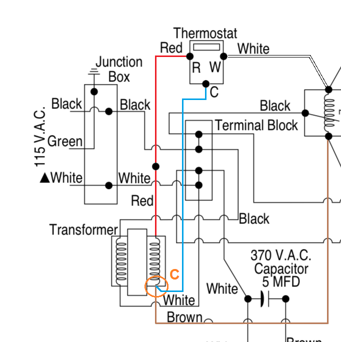 Can a Thermostat Common Wire (C-Wire) Be Added to a