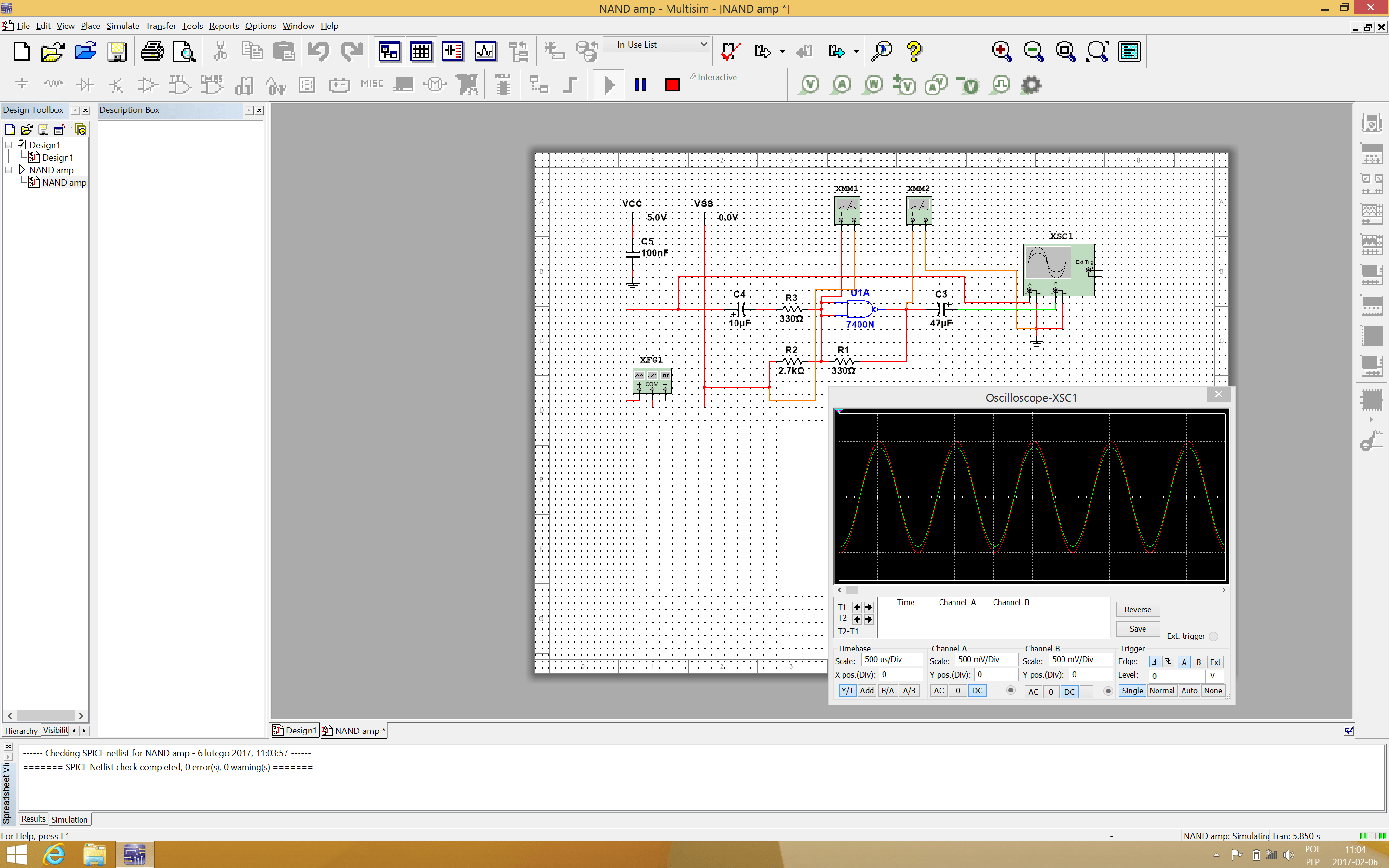 Electric Circuit Construction Set Screen Shot