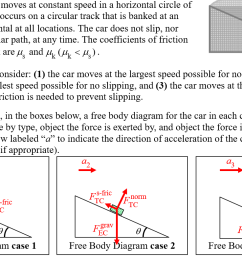 i don t understand how the force of friction can face a different direction in each case to my understanding without friction there is a net force down  [ 1294 x 786 Pixel ]