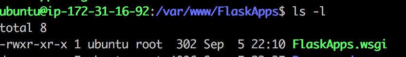 python - Target WSGI script not found or unable to stat for Flask Apache - Stack Overflow
