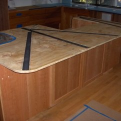 Kitchen Counter Overhang Pull Out Cabinet Counters Can I Support A Granite Countertop With Steel Bars In Subtop