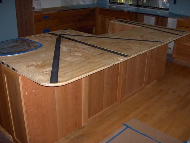 Wonderful maximum overhang for granite countertop 10 for Maximum granite overhang without support