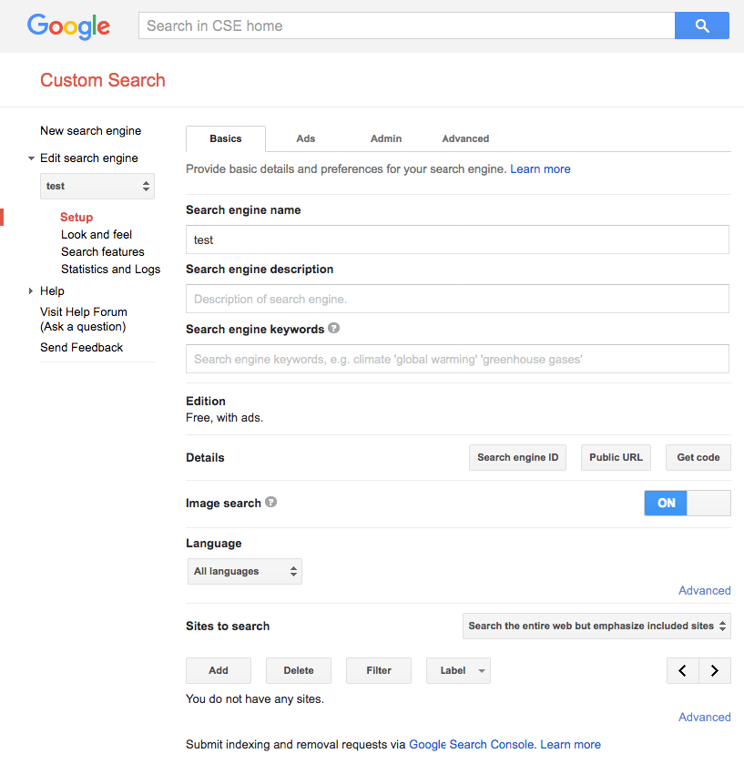 Google manual search results do not match Custom Search