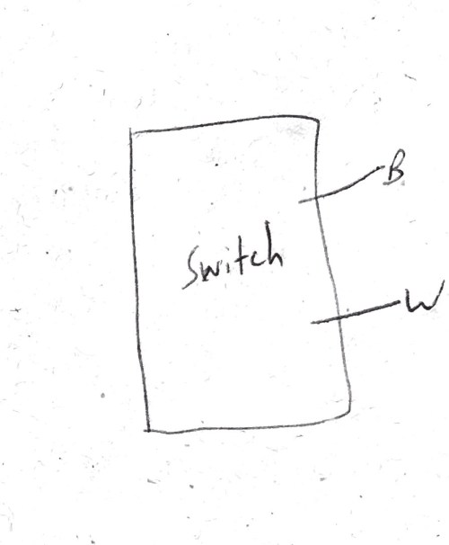 small resolution of switched half hot outlet