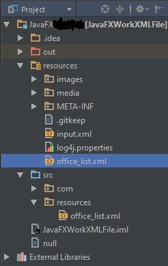 расположение office_list.xml файла
