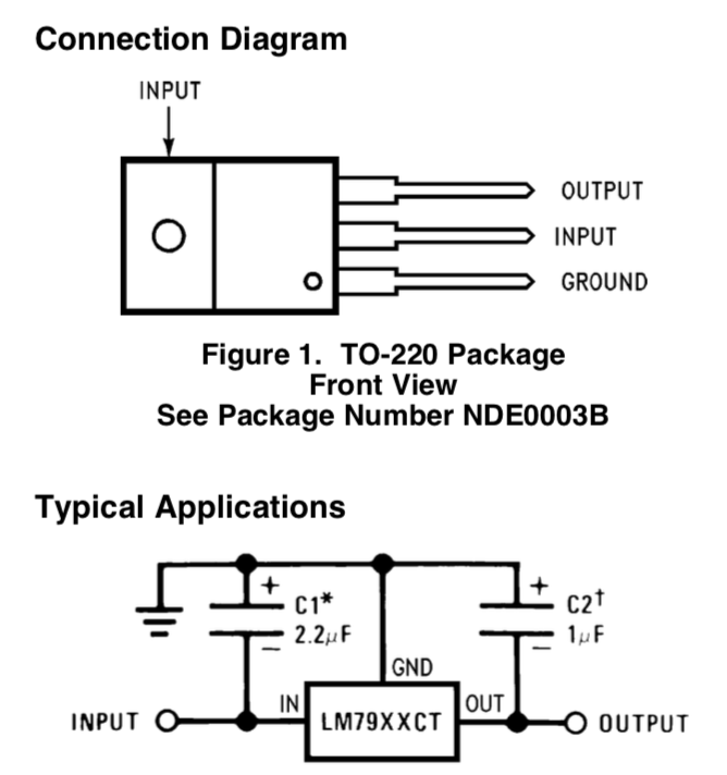What am I doing wrong with this voltage regulator