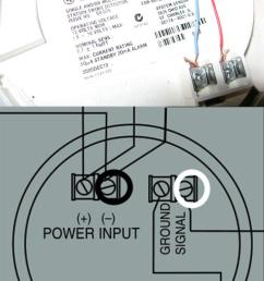 electrical need help with correct wiring when replacing a old smoke detectors wiring diagram [ 701 x 1233 Pixel ]