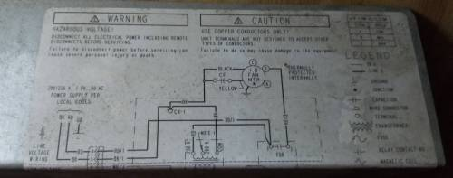 small resolution of wiring a replacement hvac blower motor for an american standard heat goodman air handler relay american standard air handler wiring diagram for