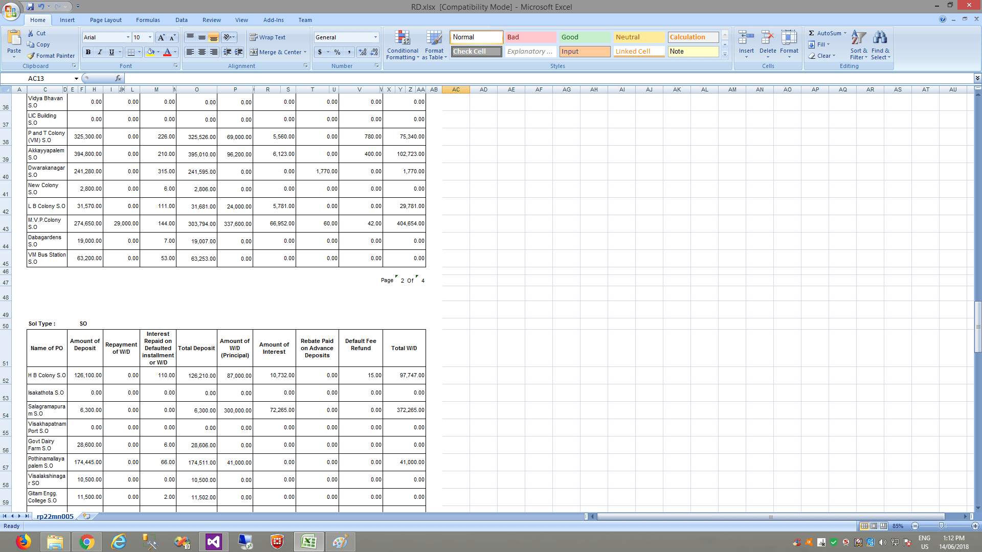 Excel To Datagridview Not Displaying Numbered Cells To Grid C Web Application