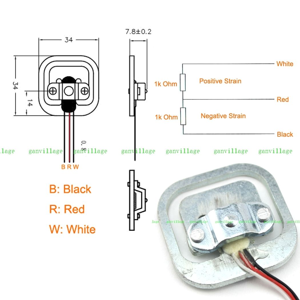 3 Wire Load Cells And Wheatstone Bridges From A Bathroom Scale