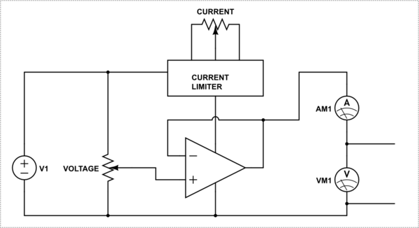 Why don't most lab power supply units display the maximum