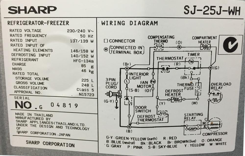 schematic diagram of electrical wiring 2000 gmc sierra 1500 radio refrigerator save foneplanet de understanding fridge home rh diy stackexchange com