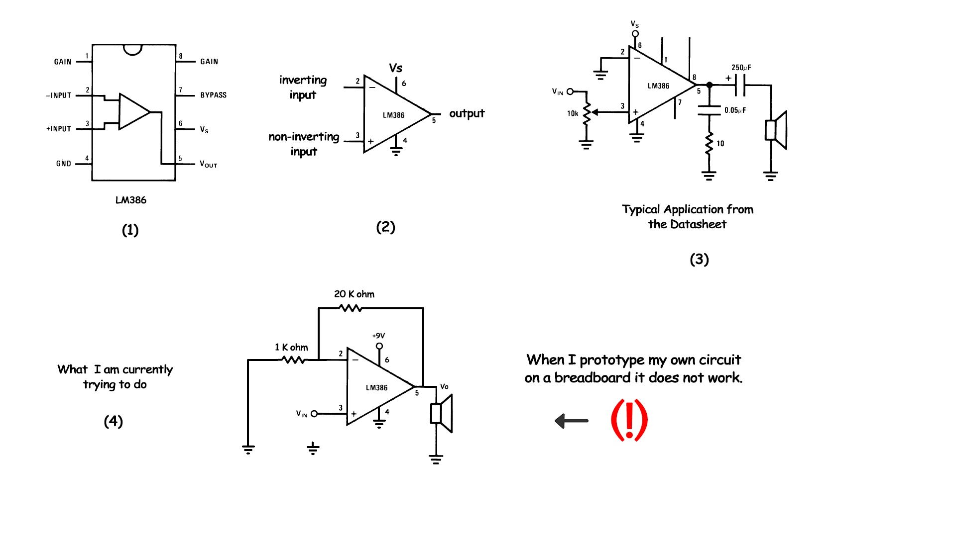 hight resolution of lm386 circuit