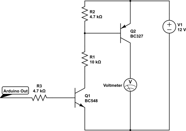 voltmeter using arduino electronicslab