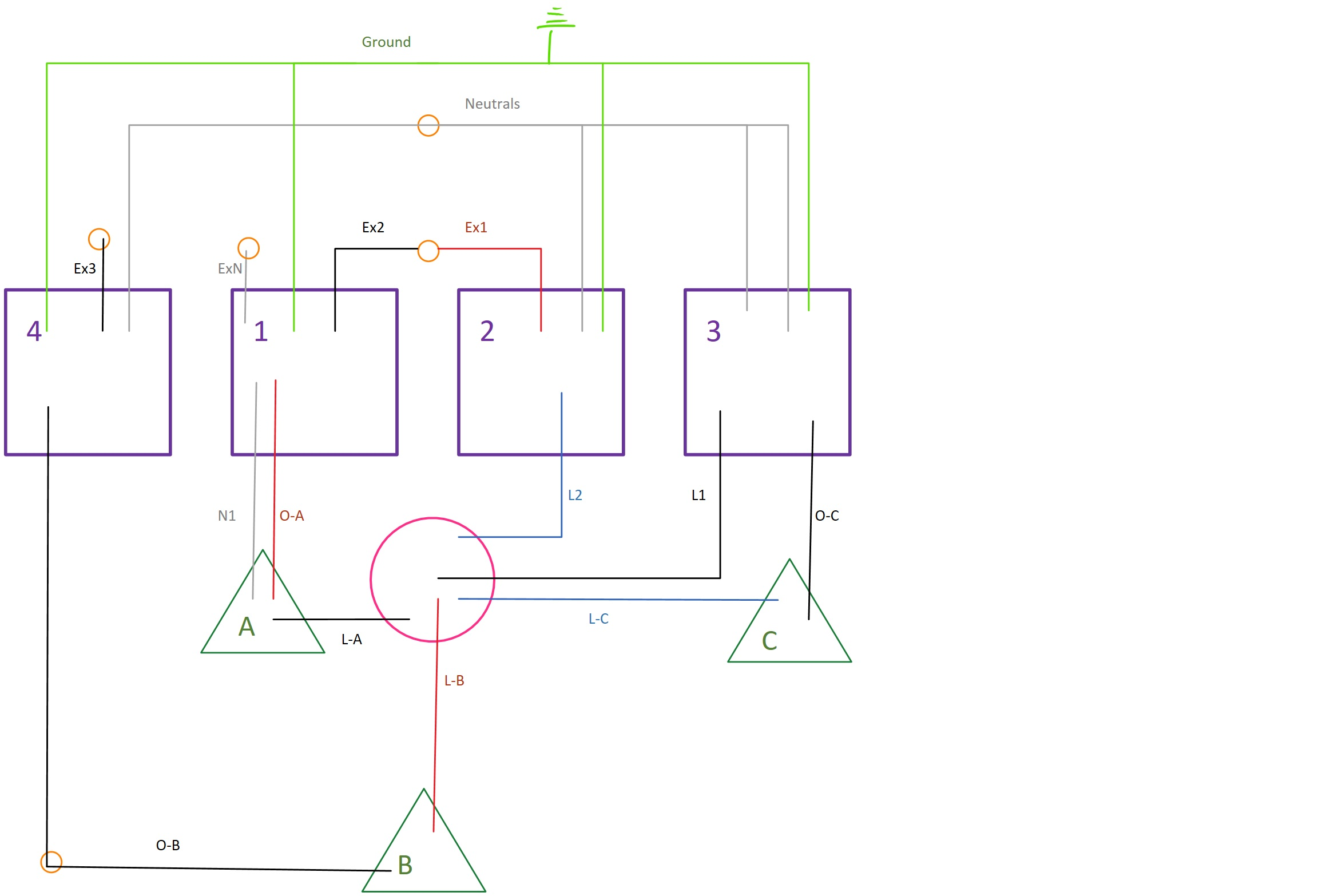 Groovy 3 Gang Switch Box Wiring Diagram Basic Electronics Wiring Diagram Wiring Cloud Pimpapsuggs Outletorg