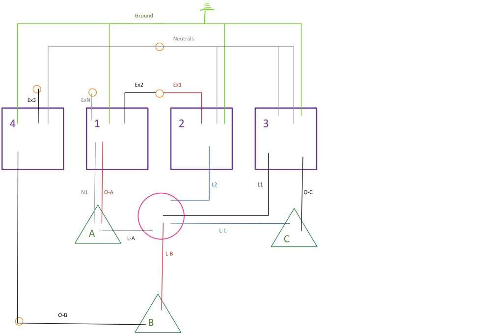 medium resolution of 3 gang electrical box wiring diagram