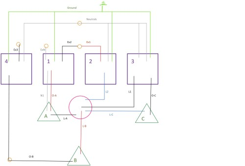 small resolution of 3 gang electrical box wiring diagram