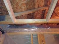 What is correct vapour barrier method for bathroom ceiling ...