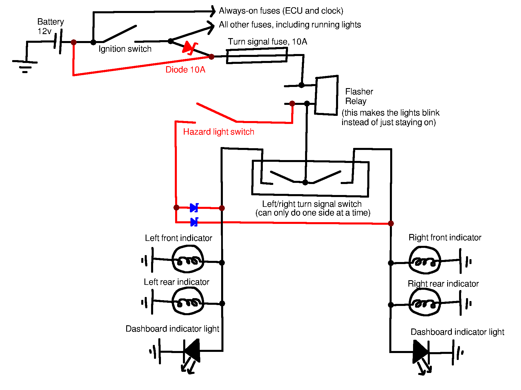 How Diode Work As A Switch