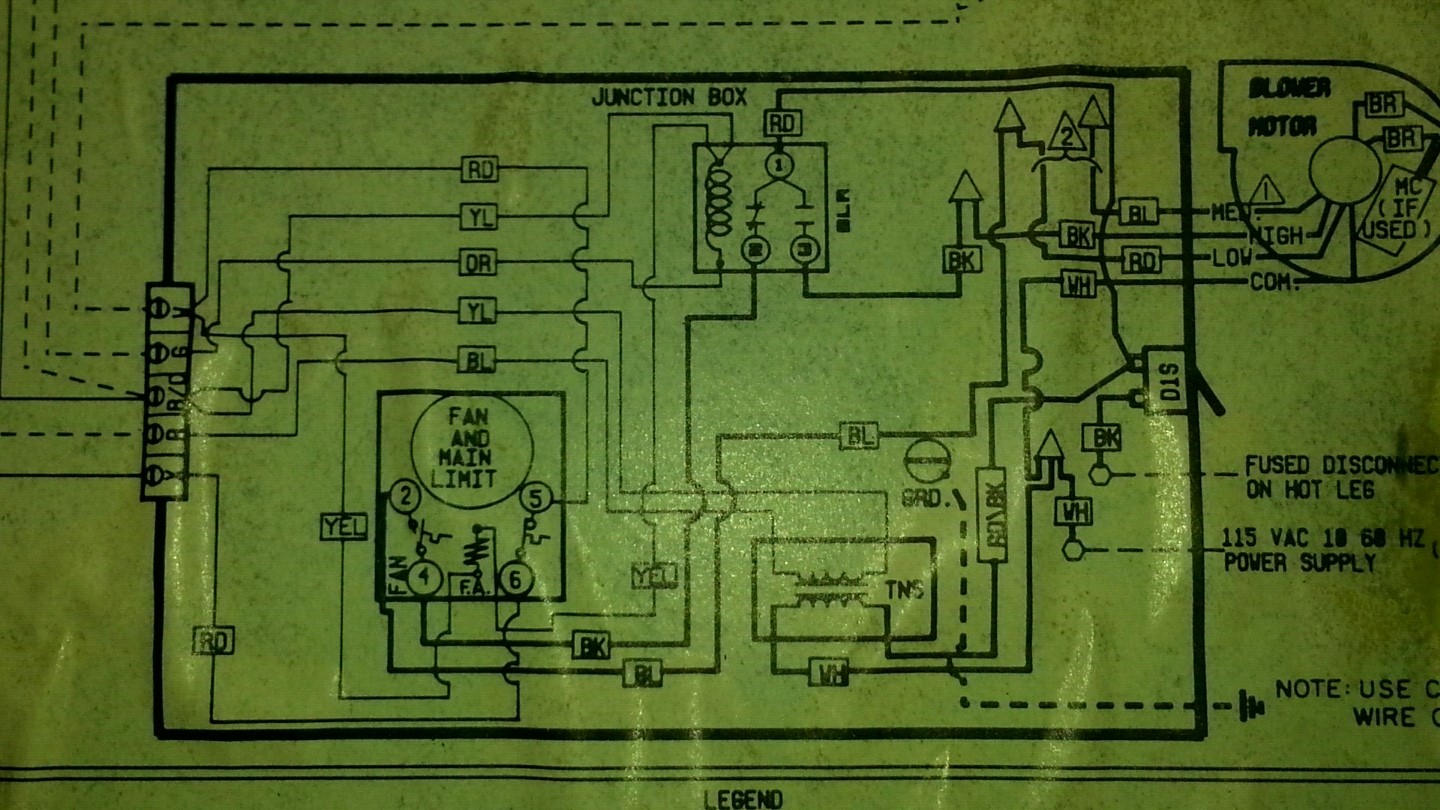 goodman electric heat wiring diagram pj trailer junction box hvac blower fan doesn t work in cool auto or on modes home enter image description here