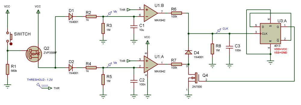 medium resolution of d type flip flop circuit diagram