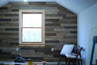 staining - Tongue and Groove Wall Paneling - Woodworking ...