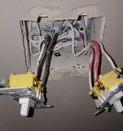what s wrong with my wiring of this light switch home improvement can wiring a light switch wrong cause a fire light switch wiring wrong [ 1209 x 895 Pixel ]