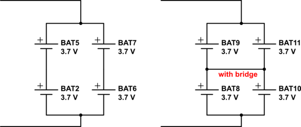lithium ion cell diagram 2000 harley davidson road king wiring batteries li cells in parallel to make a 3s8p pack schematic
