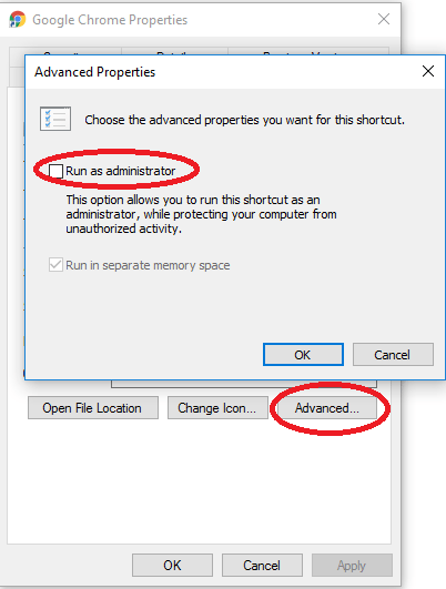 Run applications as administrator by default in Windows 10 ...