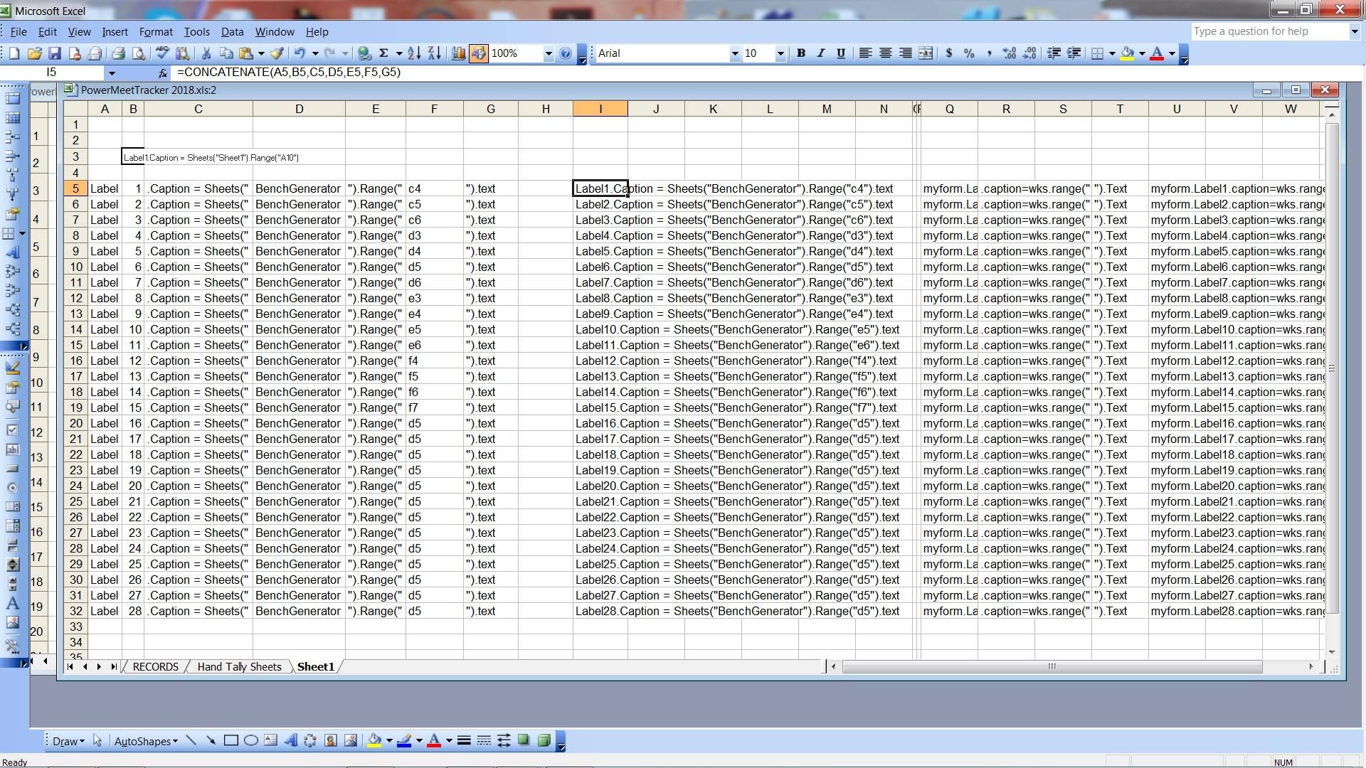 Excel Vba Worksheet Update Event