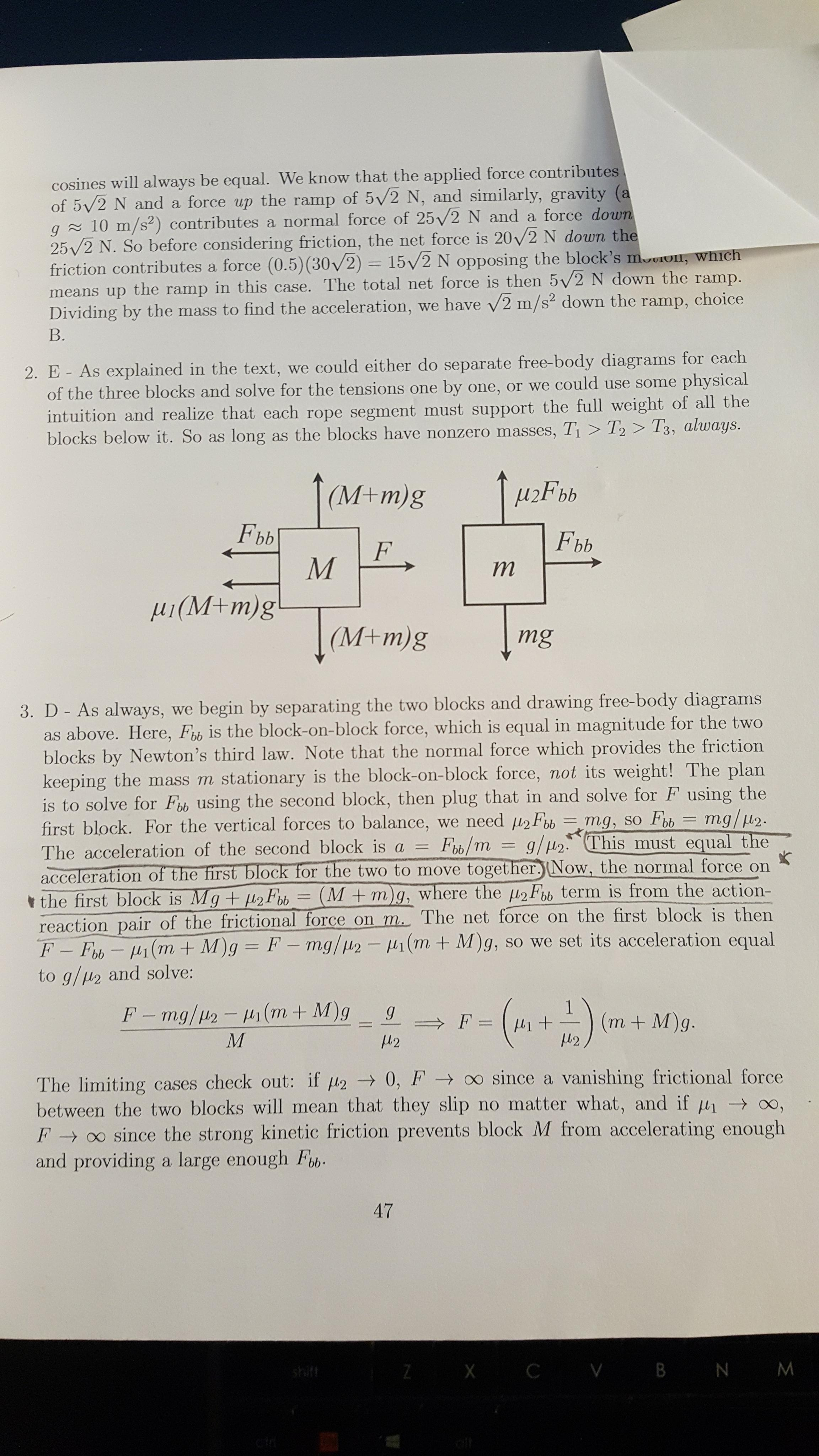 The Meaning Of Force Types Of Forces Drawing Freebody Diagrams