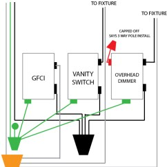 3 Gang Switch Wiring Diagram Zero Turn Mower Parts Box All Data Electrical How Do Wire A Dimmer In With One Incoming 4 Way