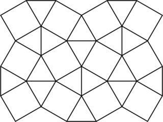 snub square tiling
