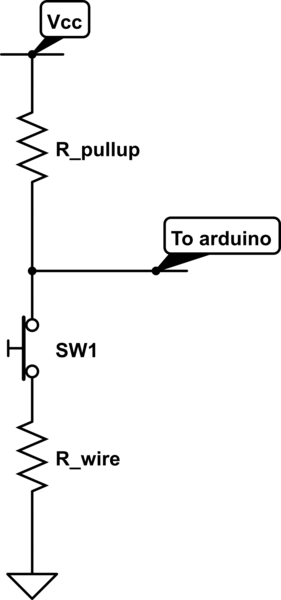 Does ground suffer from a voltage drop like effect