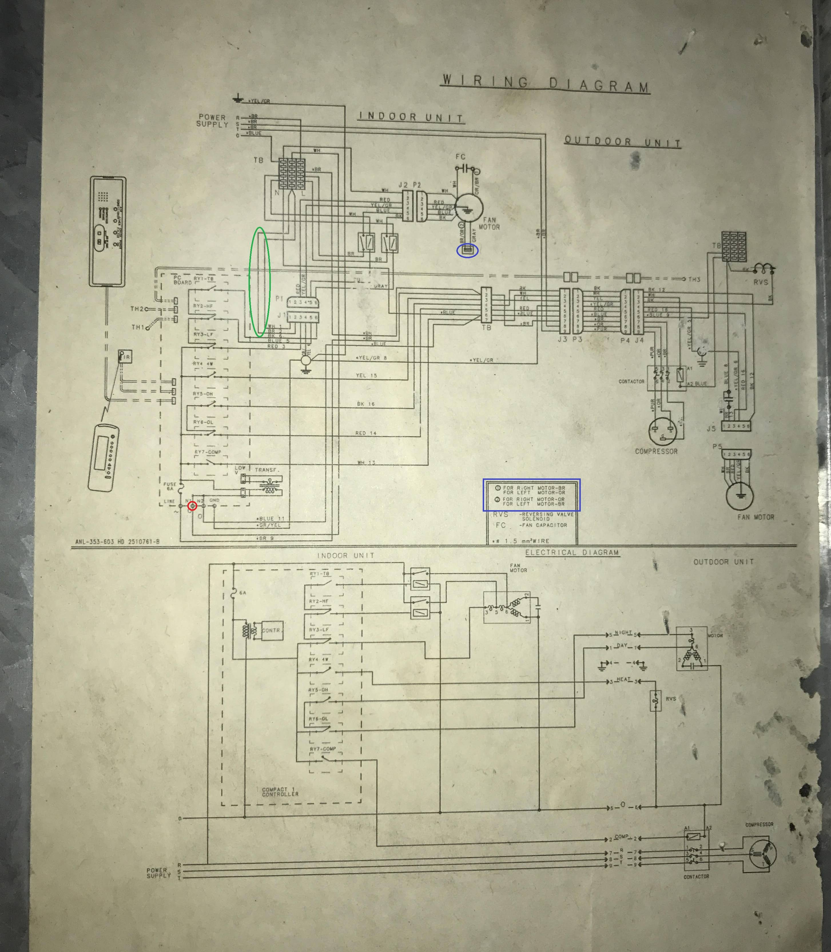 Electric Diagram Hvac