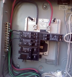electrical can i feed a sub panel from a sub panel home service panel besides 100 sub panel wire on wiring 100 amp sub panel [ 1536 x 2048 Pixel ]