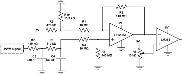 Vout Of Differential Amplifier As Vref Of