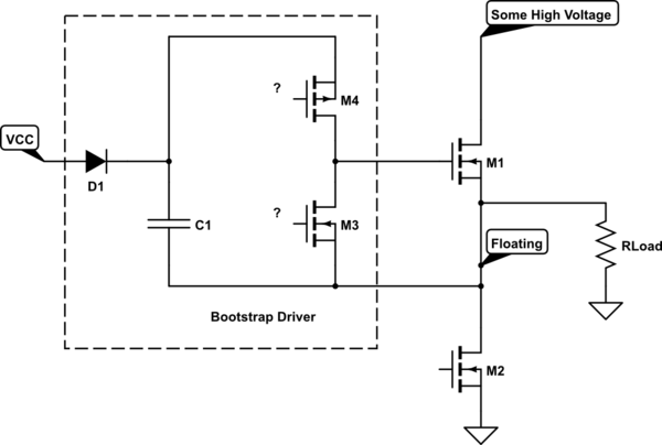 high side mosfet driver circuit