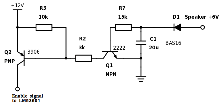 voltage clamping circuit need help